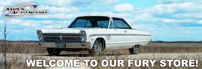 Plymouth Fury Parts  Fury Classic Muscle Car Parts