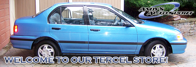 Toyota Tercel. Parts Home Car Parts Toyota