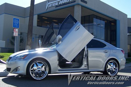 05-UP Lexus IS350  Vertical Doors Inc Lambo Doors - Direct Bolt On Kit