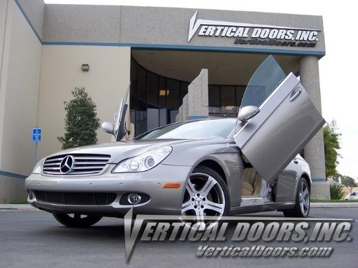05-10 Mercedes CLS Vertical Doors Inc Bolt-On Lambo Door Kit