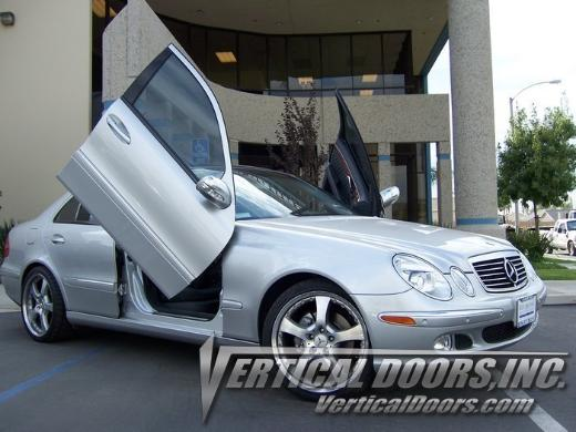 03-09 Mercedes E-Class Vertical Doors Inc Bolt-On Lambo Door Kit