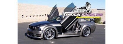 05-07 Ford Mustang Vertical Doors, Inc. Vertical Doors - Direct Bolt-On