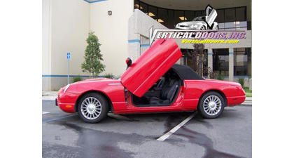 02-06 Ford Thunderbird Vertical Doors, Inc. Vertical Doors - Direct Bolt-On