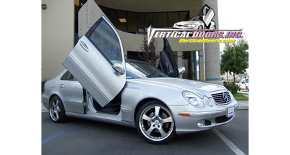 03-07 Mercedes E-Class Vertical Doors, Inc. Vertical Doors - Direct Bolt-On