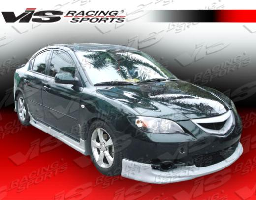 04-06 Mazda 3 4dr Vis Racing Fuzion Body Kit