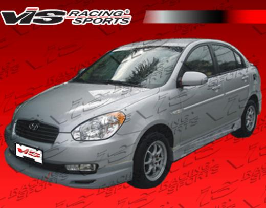 06-08 Hyundai Accent 4dr Vis Racing V Spec Body Kit