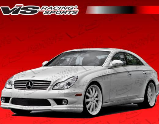 06-11 Mercedes CLS W219 4dr Vis Racing C Tech Front Lip