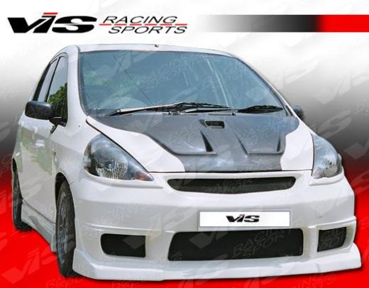2007-9999 Honda Fit Vis Racing N1 Front Bumper
