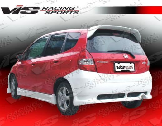 2007-9999 Honda Fit Vis Racing N1 Rear Bumper