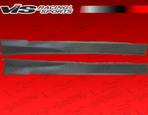 1999-2004 Ford Mustang Vis Racing Invader 3 Side Skirts