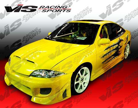 00-02 Cavalier 2DR VIS Racing Battle Z Body Kit - Full Kit
