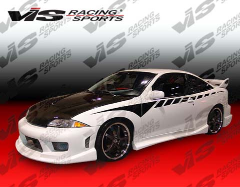 00-02 Cavalier 2DR VIS Racing Striker Body Kit - Full Kit