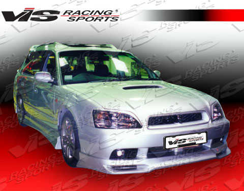 00-04 Legacy 4DR VIS Racing V Spec Body Kit - Front Lip