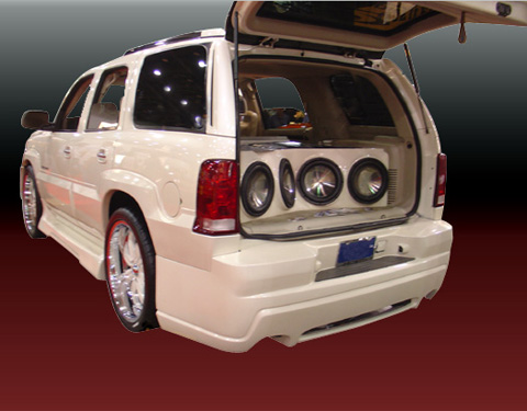 2002-2006 Cadillac Escalade VIS Racing Outcast 2 Body Kit - Side Skirts