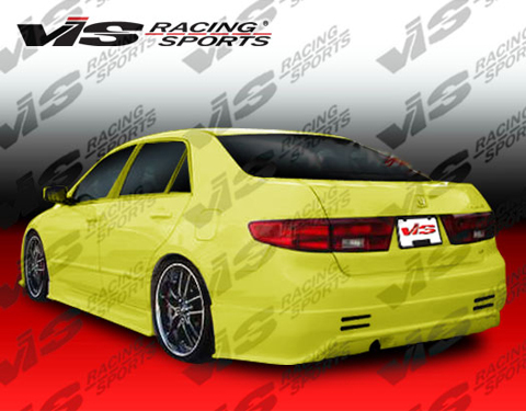 Honda Accord Racing Auto Parts on Vis Racing Prodigy Body Kit   Rear Bumper For 03 07 Honda Accord At