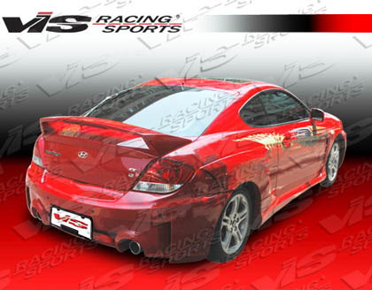 03-06 Tiburon 2DR VIS Racing Fiberglass Fenders - Rally (Rear)