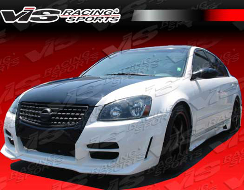Auto Racing Images  Sale on Vis Racing Octane Body Kit   Front Bumper For 02 06 Nissan Altima At