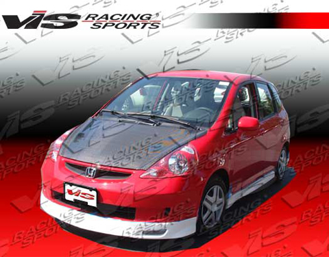 2007-9999 Honda Fit VIS Racing Techno R 3 Body Kit - Side Skirts