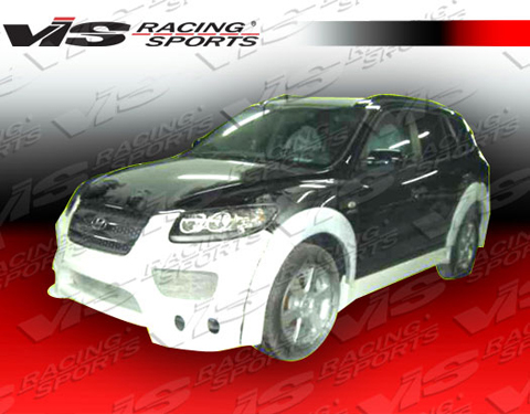 07-08 Santa Fe 4DR VIS Racing Outcast Body Kit - Full Kit
