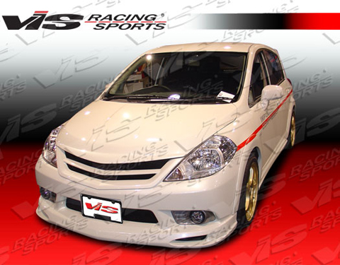 07-08 Versa HB VIS Racing Octane 2 Body Kit - Full Kit
