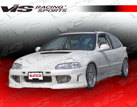 92hdcvc2dsv 001 Vis Racing Servo Body Kit Front Bumper