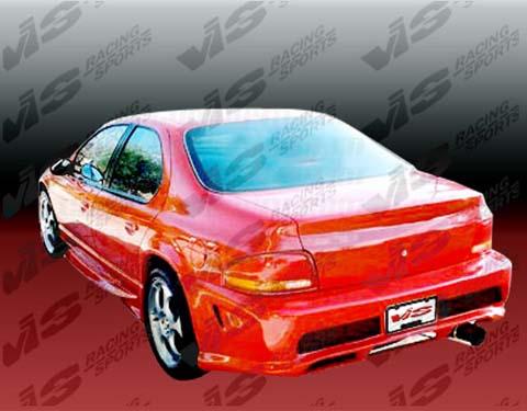 VIS Racing Kombat Body Kit - Rear Bumper