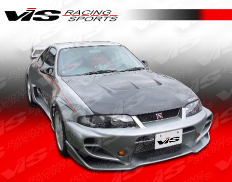 95-98 Skyline R33 (GT 2DR VIS Racing Invader GT Body Kit - Full Kit