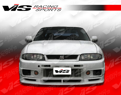95-98 Skyline R33 (GT 2DR VIS Racing Omega R400 Body Kit - Front Bumper
