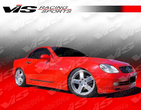 97-04 SLK R170 2DR VIS Racing Laser Body Kit - Full Kit