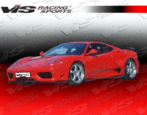 99-04 F 360 2DR VIS Racing Euro Tech Body Kit - Full Kit
