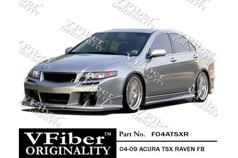 Acura  2004 on Raven Body Kit   Full Kit For 04 08 Acura Tsx At Andy S Auto Sport