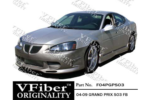 2004-9999 Pontiac Grand_Prix Vision Auto SO3 Body Kit - Front Bumper
