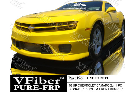 Chevrolet Camaro 10-11 2dr Vision Autodynamics SS1 Body Kit - Full Kit