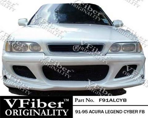 91-95 Acura Legend 4DR Vision Cyber Body Kit - Full Kit