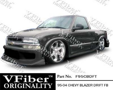 Chevrolet Blazer 95-04 Pick-Up Vision Autodynamics Drift Body Kit - Front