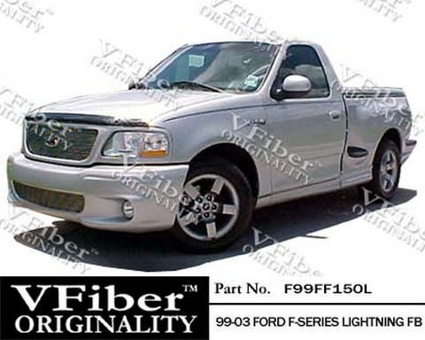 99-03 Ford F-Series Vision Lightning Body Kit - Front Bumper