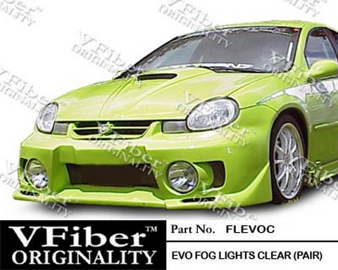 2000-2002 Dodge Neon Vision Fog Lights - Clear