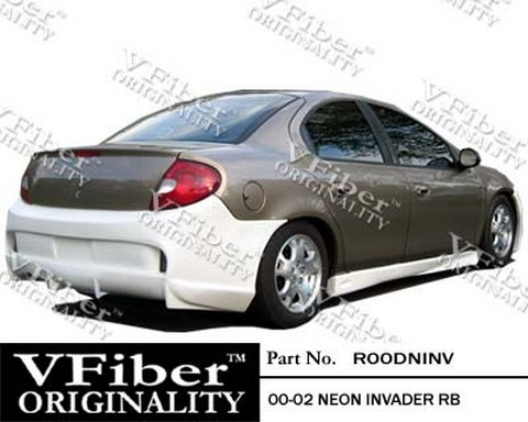 2000-2002 Dodge Neon Vision Invader Body Kit - Rear Bumper