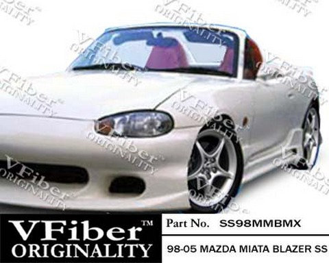 1999-2005 Mazda Miata Vision Blazer Body Kit - Side Skirts