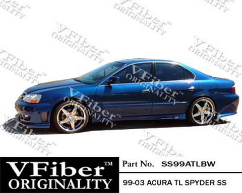 1999 Acura on 1999 2003 Acura Tl Vision Spyder Body Kit   Side Skirts