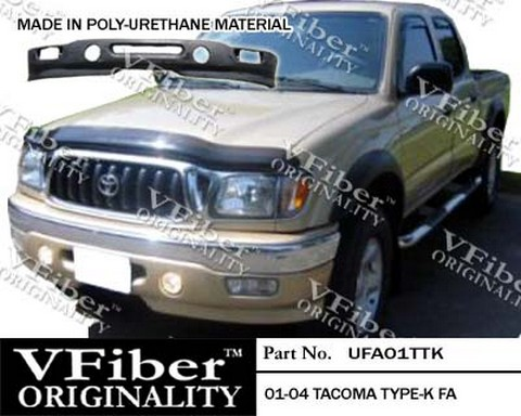 01-04 Toyota Tacoma Vision TypeK Body Kit - Front Add-On(s) (Urethane)
