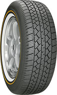 1965-1972 Mercedes 250 Vogue Wide Trac Touring II P225/60R-16 97H GOLD