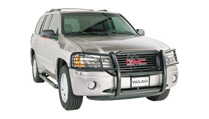 gmc envoy grille guards at andys auto sport. Black Bedroom Furniture Sets. Home Design Ideas