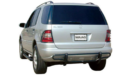 06 Mercedes ML Series (Excluding AMG 55) WAAG Rear Bumper Guard