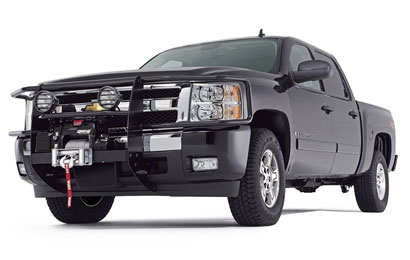 Warn 73753 18771 with free shipping at andys warn trans4mer light bar kit angled stainless steel mozeypictures Images