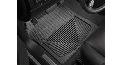 97-Up Econoline�97-Up Econoline Van (E-Series) Weathertech Rubber Floormats - Front (Black)