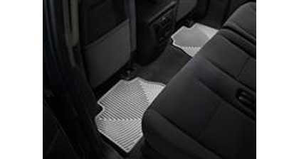97-Up Econoline�97-Up Econoline Van (E-Series) Weathertech Rubber Floormats - Rear (Grey)