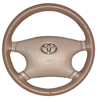 00-04 V40 Wheelskins Steering Wheel Cover - Original (Oak)