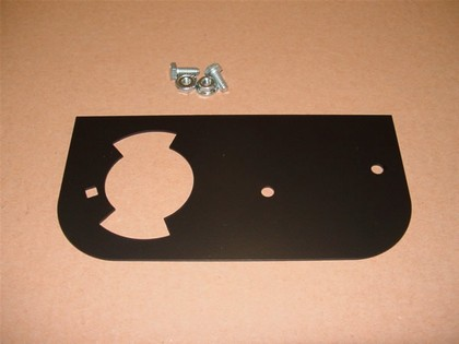 00-01 Chevy Suburban White Night 7-Pin Trailer Wiring Plug Relocation Plate