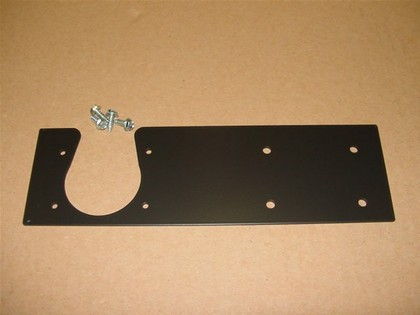 05-10 Jeep Liberty White Night 7-Pin Trailer Wiring Plug Relocation Plate